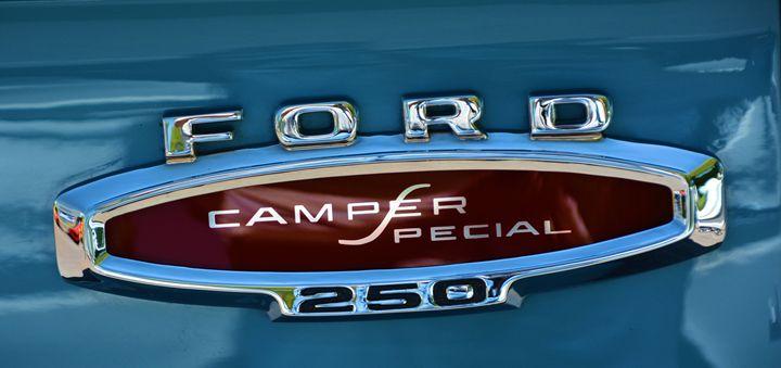 Vintage Ford Emblem - Richard W. Jenkins Gallery