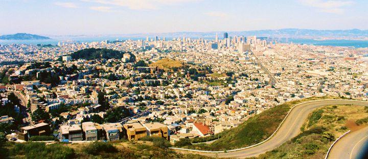 San Francisco Skyline - Richard W. Jenkins Gallery