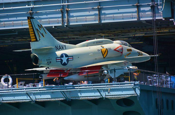 Navy Jet - Richard W. Jenkins Gallery
