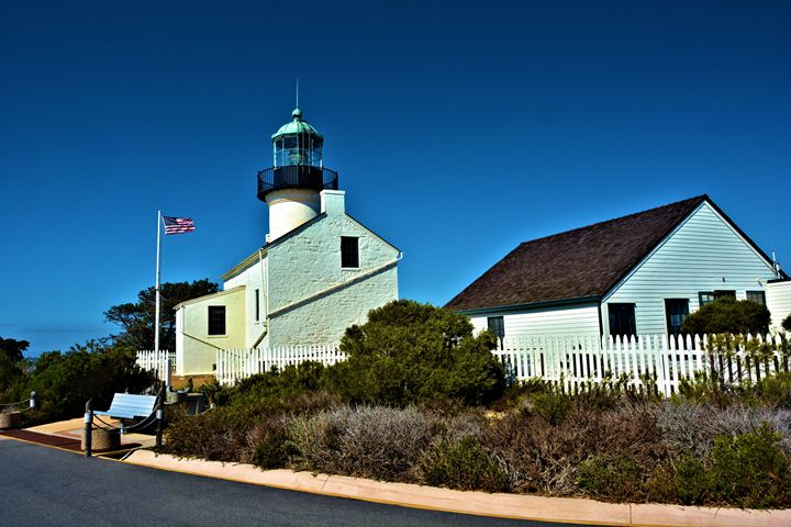 Point Loma Light House - Richard W. Jenkins Gallery
