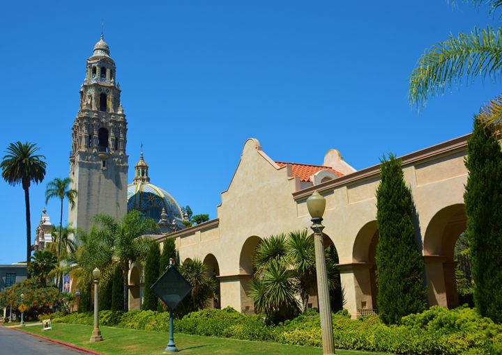 Del Prado and Bell Tower - Richard W. Jenkins Gallery