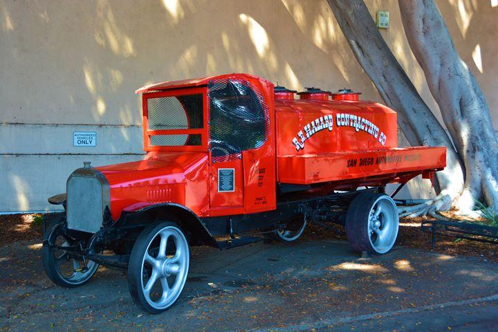 Vintage Fire Truck - Richard W. Jenkins Gallery