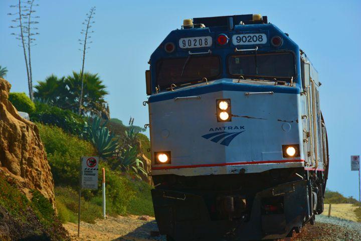 Amtrak Train - Richard W. Jenkins Gallery