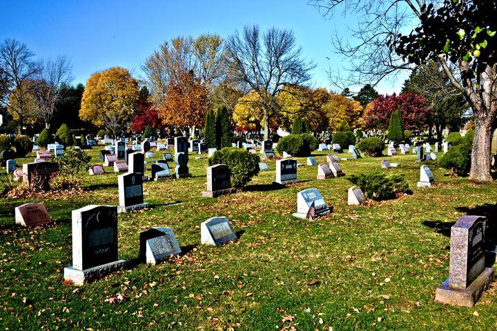 Greece New York Cemetery - Richard W. Jenkins Gallery