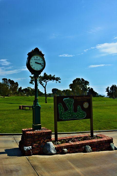 Torrey Pines Starter Clock - Richard W. Jenkins Gallery