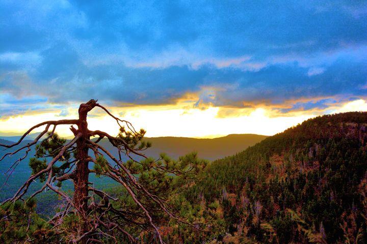 Arizona Mountain Scene - Richard W. Jenkins Gallery
