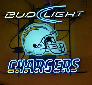 Bud Light and Chargers - Richard W. Jenkins Gallery