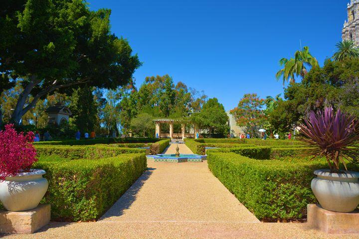 Balboa Park Garden - Richard W. Jenkins Gallery