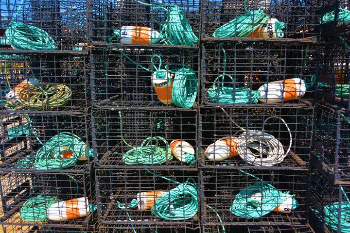 Lobster TRaps - Richard W. Jenkins Gallery