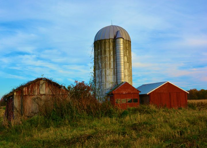 Old Abandoned Farm - Richard W. Jenkins Gallery