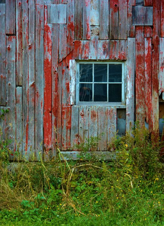 Old Barn Window - Richard W. Jenkins Gallery