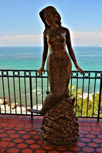 Mermaid Statue - Richard W. Jenkins Gallery