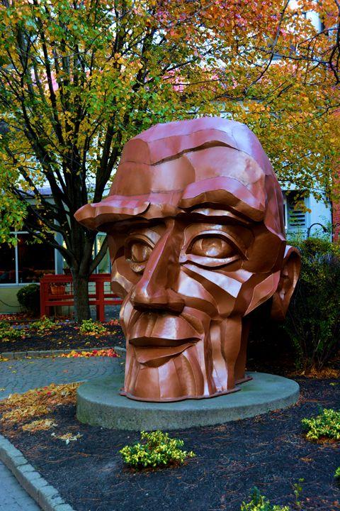 A Large Statue - Richard W. Jenkins Gallery