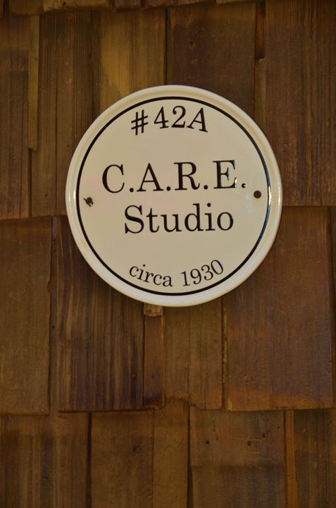 Vintage Care Studio sigh - Richard W. Jenkins Gallery