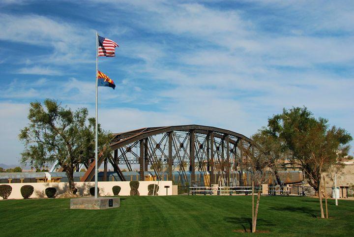 Bridge over the Colorado River - Richard W. Jenkins Gallery