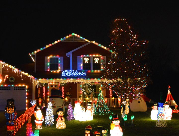 Christmas Lights - Richard W. Jenkins Gallery