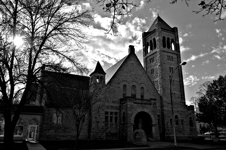 Historic Cobblestone Church - Richard W. Jenkins Gallery