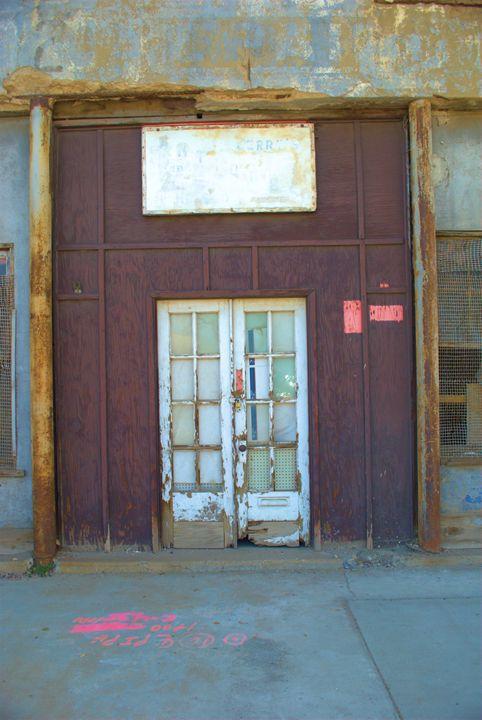 Vintage Door - Richard W. Jenkins Gallery