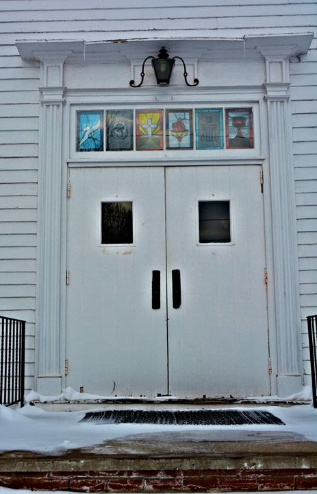 Entrance to a Vintage Church - Richard W. Jenkins Gallery