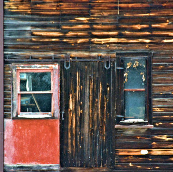 Old barn doors and windows - Richard W. Jenkins Gallery