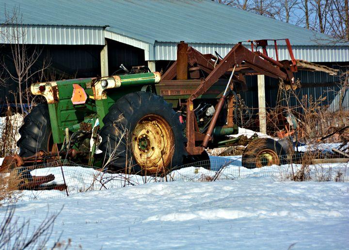 Antique Tractor - Richard W. Jenkins Gallery