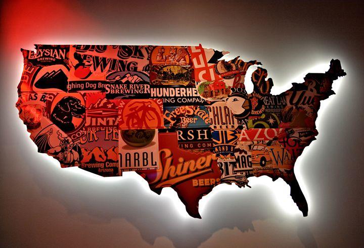 USA Map - Richard W. Jenkins Gallery