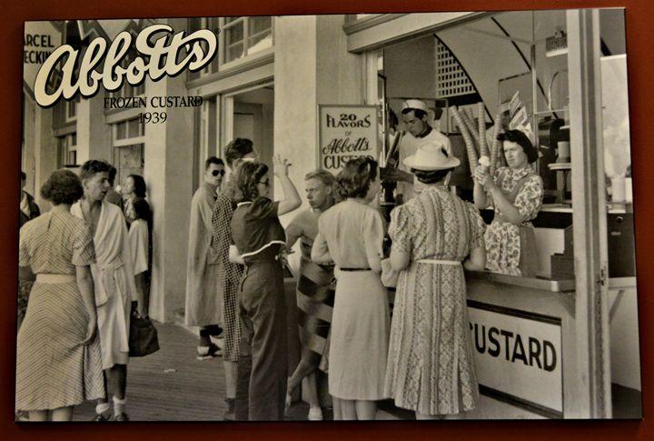 Abbotts Custard - Richard W. Jenkins Gallery