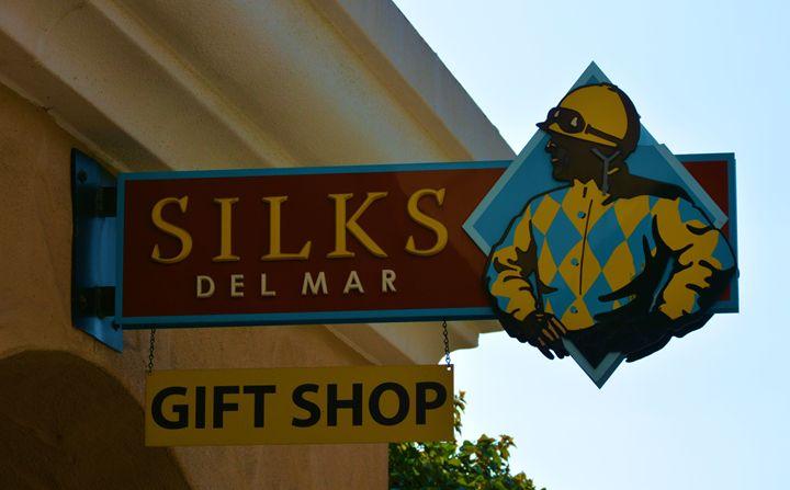 Silks at Del Mar - Richard W. Jenkins Gallery
