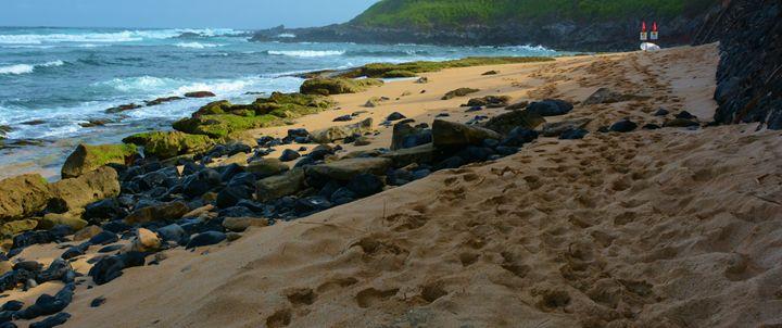 Footprints on Maui Sand - Richard W. Jenkins Gallery