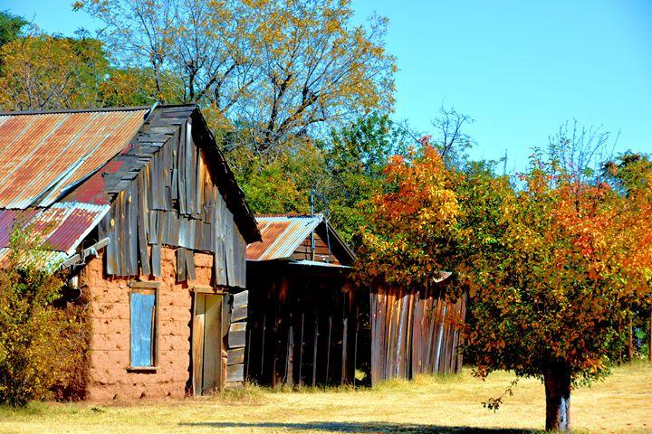 Old Abondened Rusty Shacks - Richard W. Jenkins Gallery