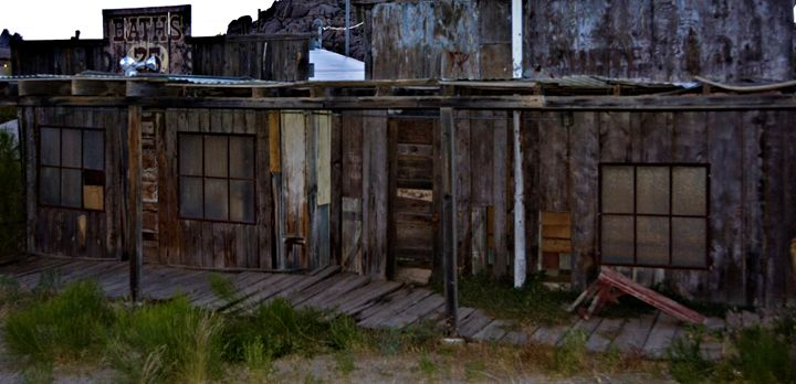 Abandoned Old West Bath House - Richard W. Jenkins Gallery
