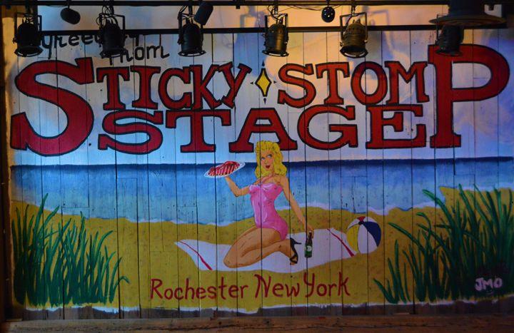 SXticky Stomp Stage - Richard W. Jenkins Gallery