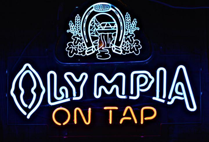 Olympia Beer - Richard W. Jenkins Gallery