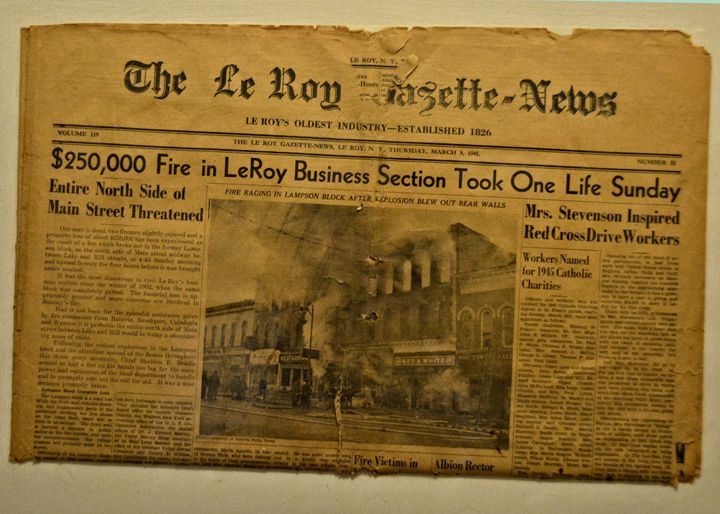 Vintage News Paper New York - Richard W. Jenkins Gallery