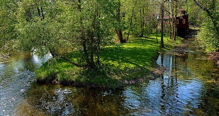 A bend in tghe creek - Richard W. Jenkins Gallery