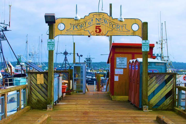 Oregon Harbor - Richard W. Jenkins Gallery