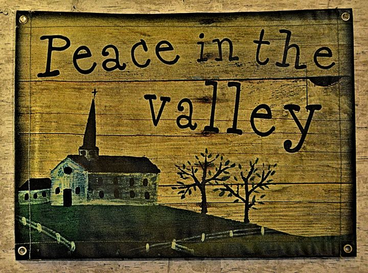 Pedace In The Valley - Richard W. Jenkins Gallery