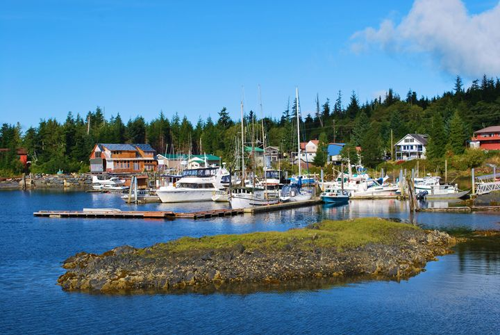 Alaska Seaport Harbor - Richard W. Jenkins Gallery