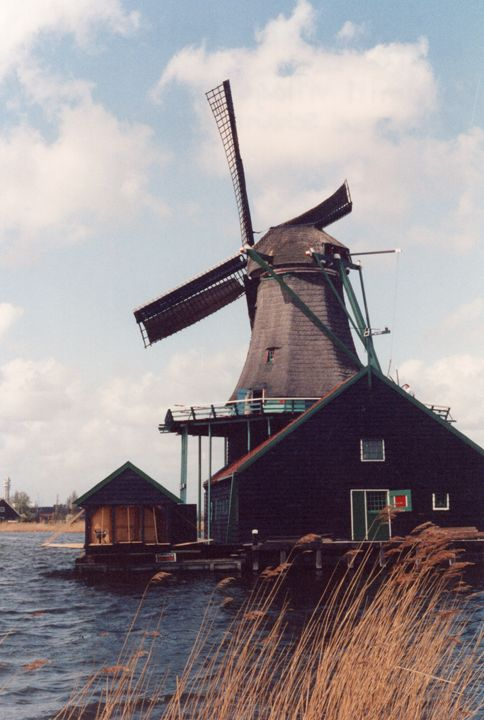 Windmill in Holland - Carlos' Art Works
