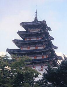 South Korean Tower Temple - Carlos' Art Works