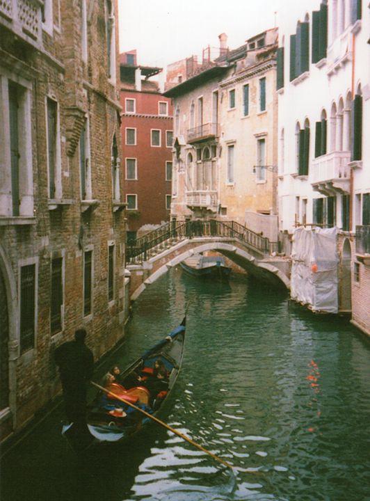 Gondola in Venice, Italy - Carlos' Art Works