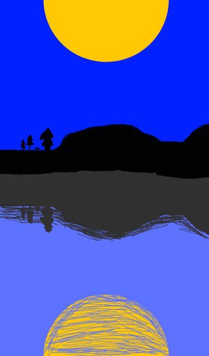 Reflected Lake - Byrne Art