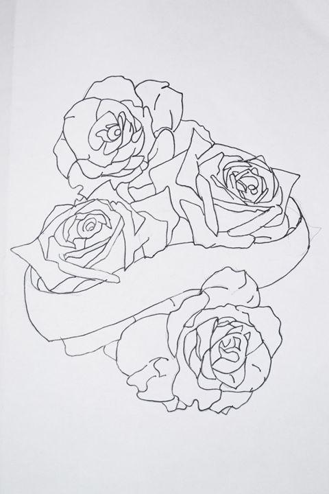 Roses and Banner - Steph Stark