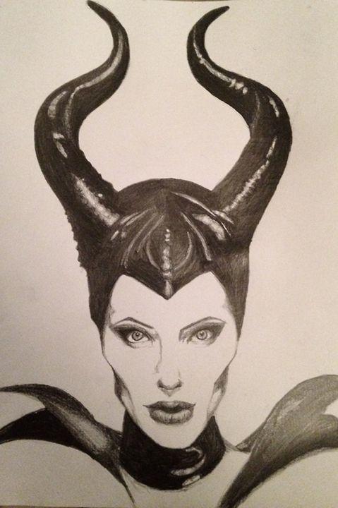 Angelina Jolie as Maleficent - Steph Stark