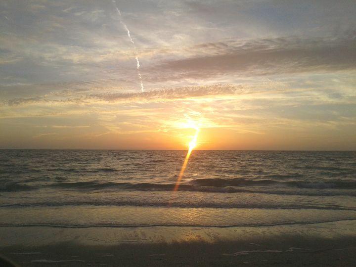 sunset - ModernArt