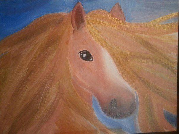 Gold Horse - Galina