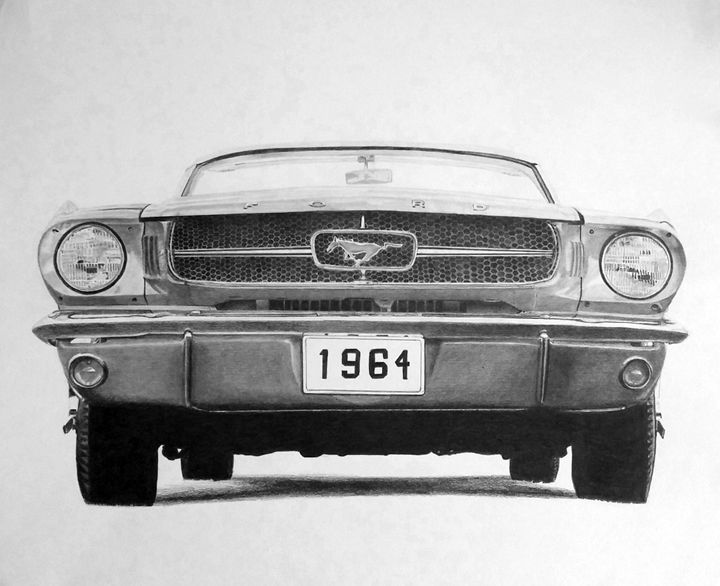 1964 Mustang - Shaleaux Fine Art & Design