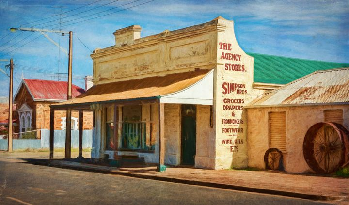 Terowie Main Street - Transchroma Photography
