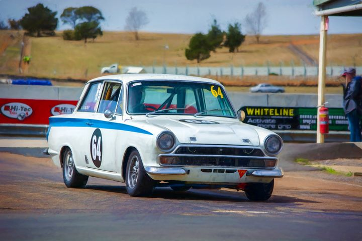 1964 Ford Cortina - Transchroma Photography
