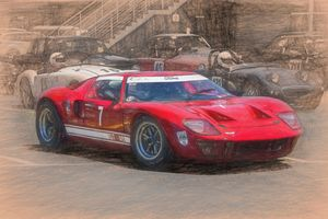 Red Ford Gt40